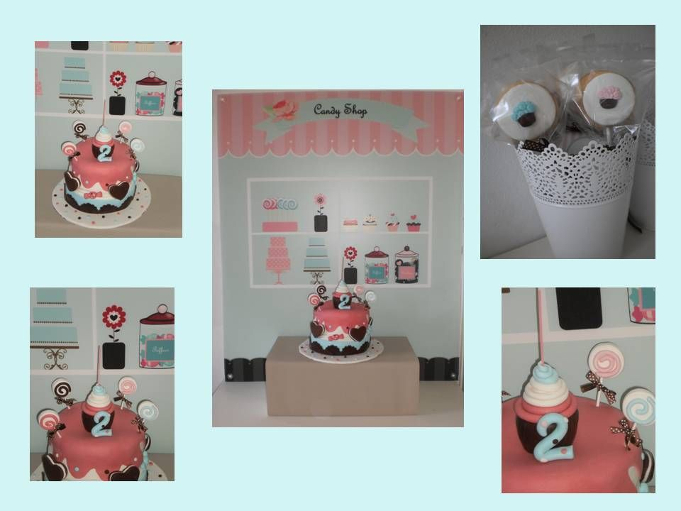 Candy SHop Party By Fada dos Bolos