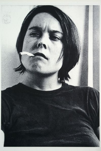 Sarah Lucas : Fighting Fire with Fire (1996) by Marc Wathieu on Flickr.