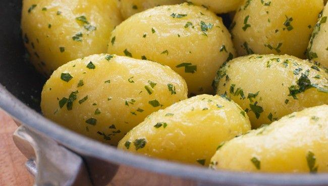 Quebec Potatoes Persillade Recipe