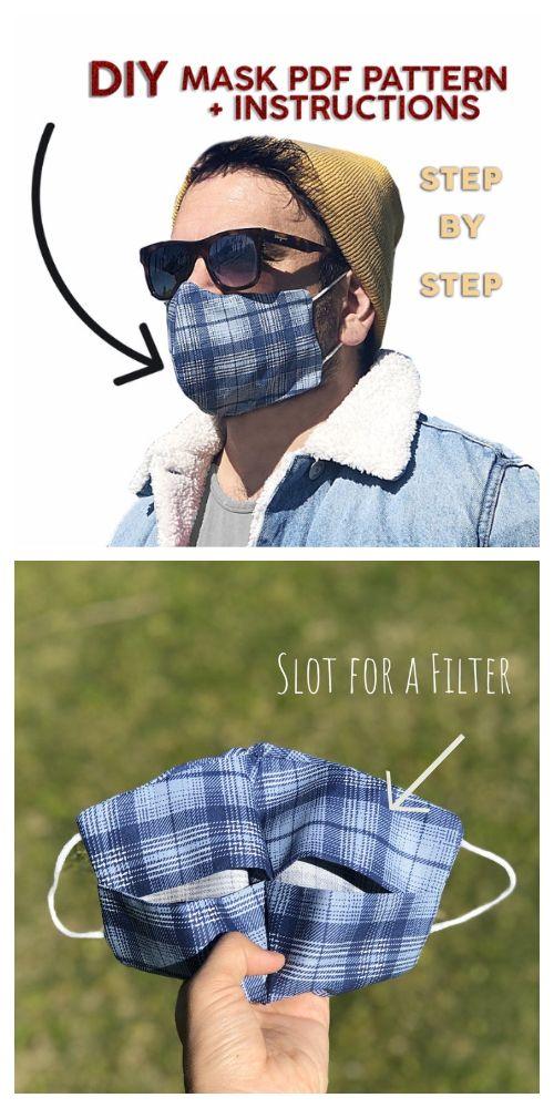 Photo of DIY Stoff Gesichtsmaske Kostenlose Schnittmuster & Bezahlt + Video | Stoffkunst DIY