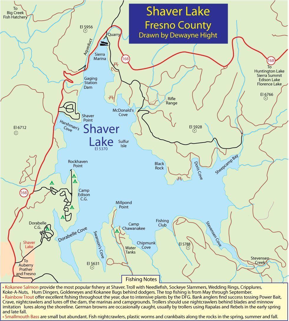 Shaver Lake Camp Edison California Sand Sample Lakes