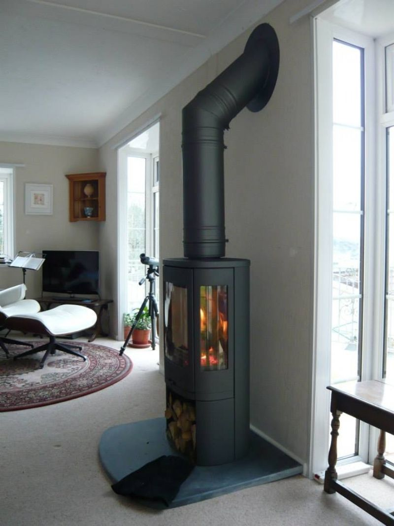 Contura 850 In Black Contemporary Wood Burning Stoves Wood Burner Fireplace Freestanding Fireplace