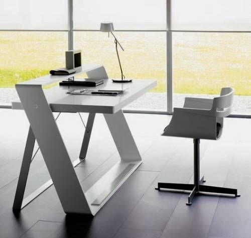 modern home office computer desk clean modern. Unique Home Office Desks | Pinterest Minimalist, And Modern Computer Desk Clean