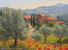 Tuscany Italy Paintings - Bing images