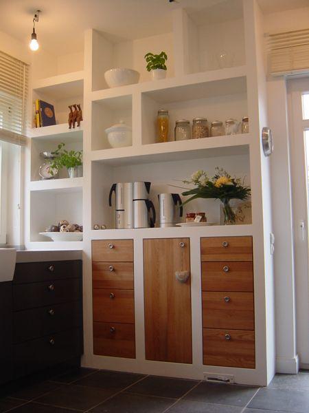 Die Tischlerin  Küchen Küche Pinterest - kleine regale für küche