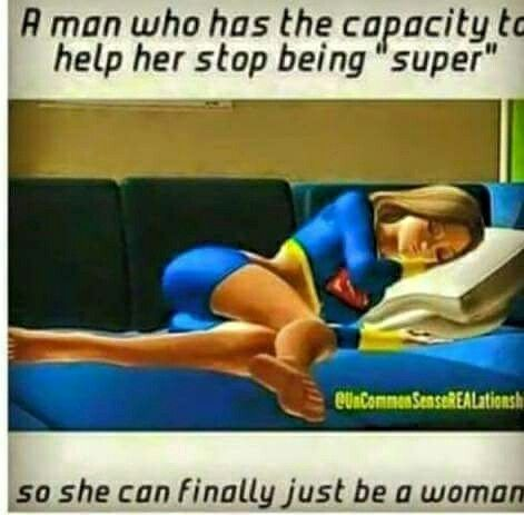 Me: *Takes Superwoman Cape Away* Me: Save It For The Bedroom