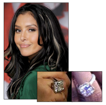 Kobe Bryant First Proposed To Vanessa Bryant When She Was In High School  With A Asscher Cut Diamond Ring. After The Public Shame.