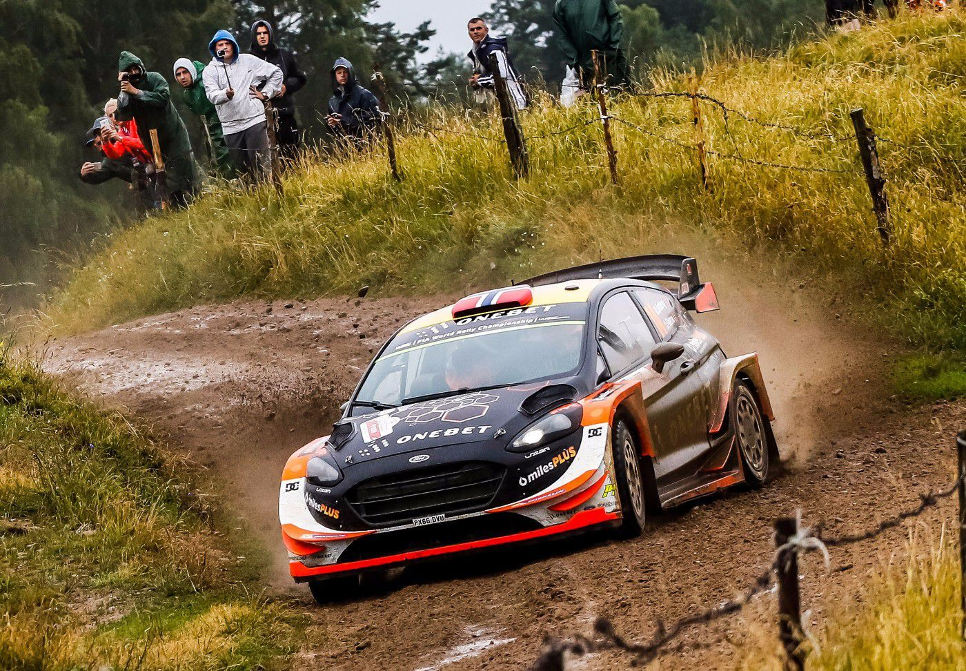 Ford Fiesta WRC 2017 Gravel or Tarmac Car has been used by Mads ...