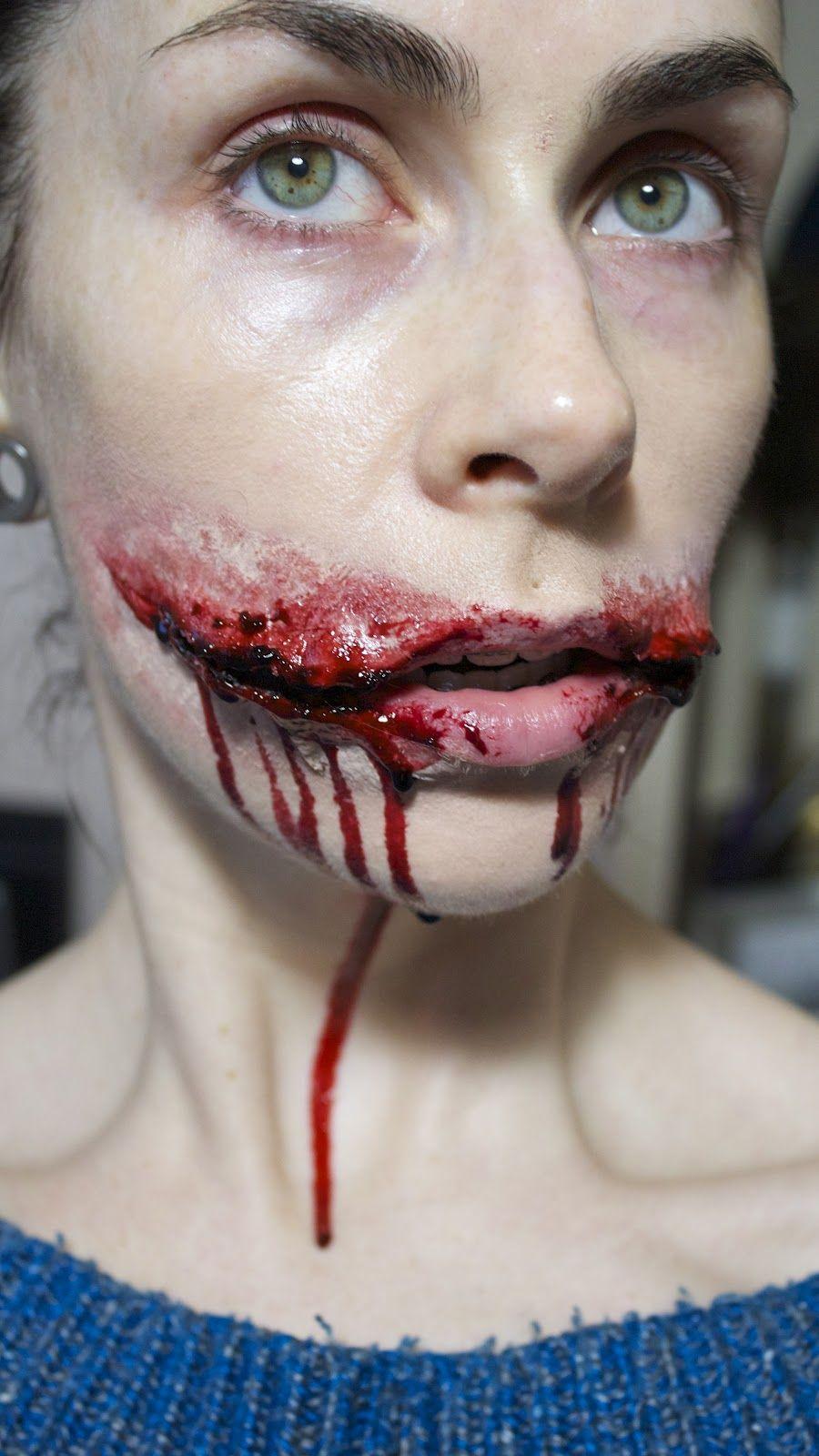Trauma Makeup/ Chelsea Smile | Makeup Morgue | Pinterest | Trauma ...