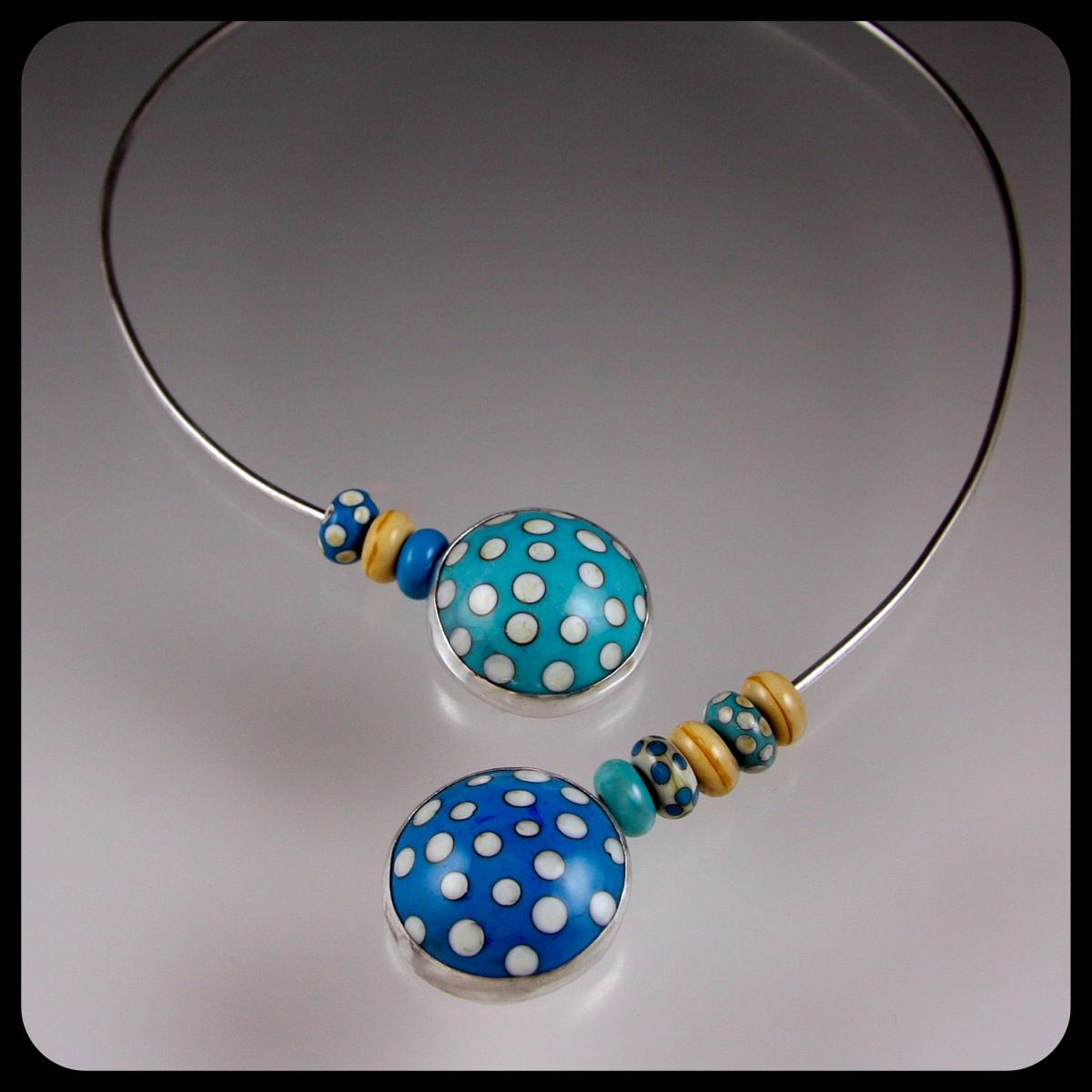 Dots of fun Necklace By Lesley Messam