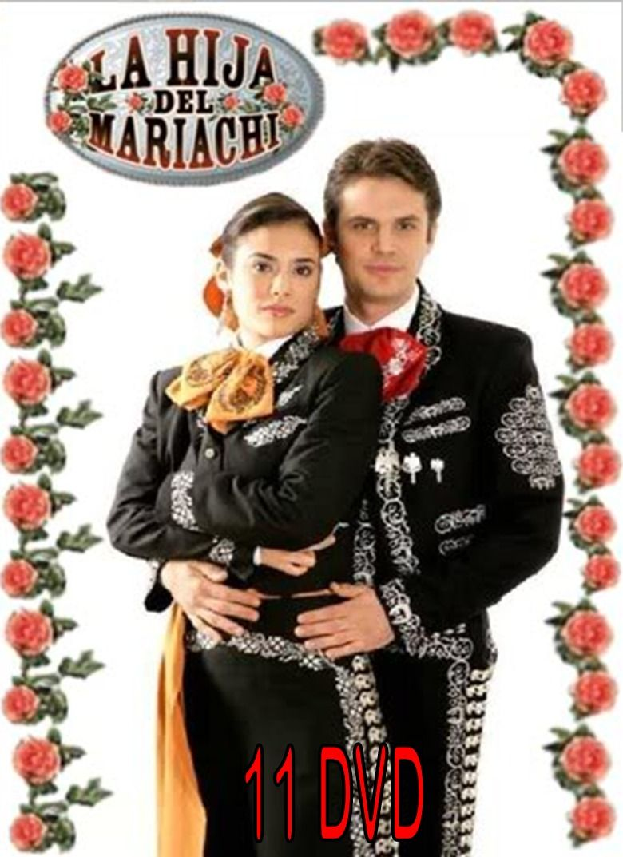 La Hija Del Mariachi Completa En 11 Dvd Formato Original 494401 Mlv20335179119 072015 F Jpg 780 1073 Mariachi Telenovelas Movie Posters