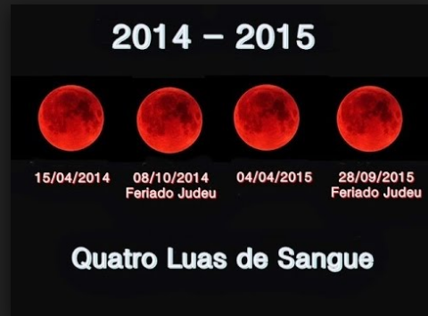 A Super Lua de Sangue do dia 27 DE SETEMBRO 2015