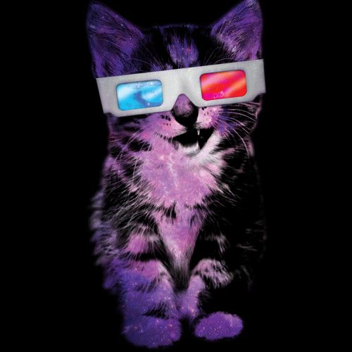 3D Space Cat is a T Shirt designed by DesignsbyMehdals to illustrate your life and is available at Design By Humans