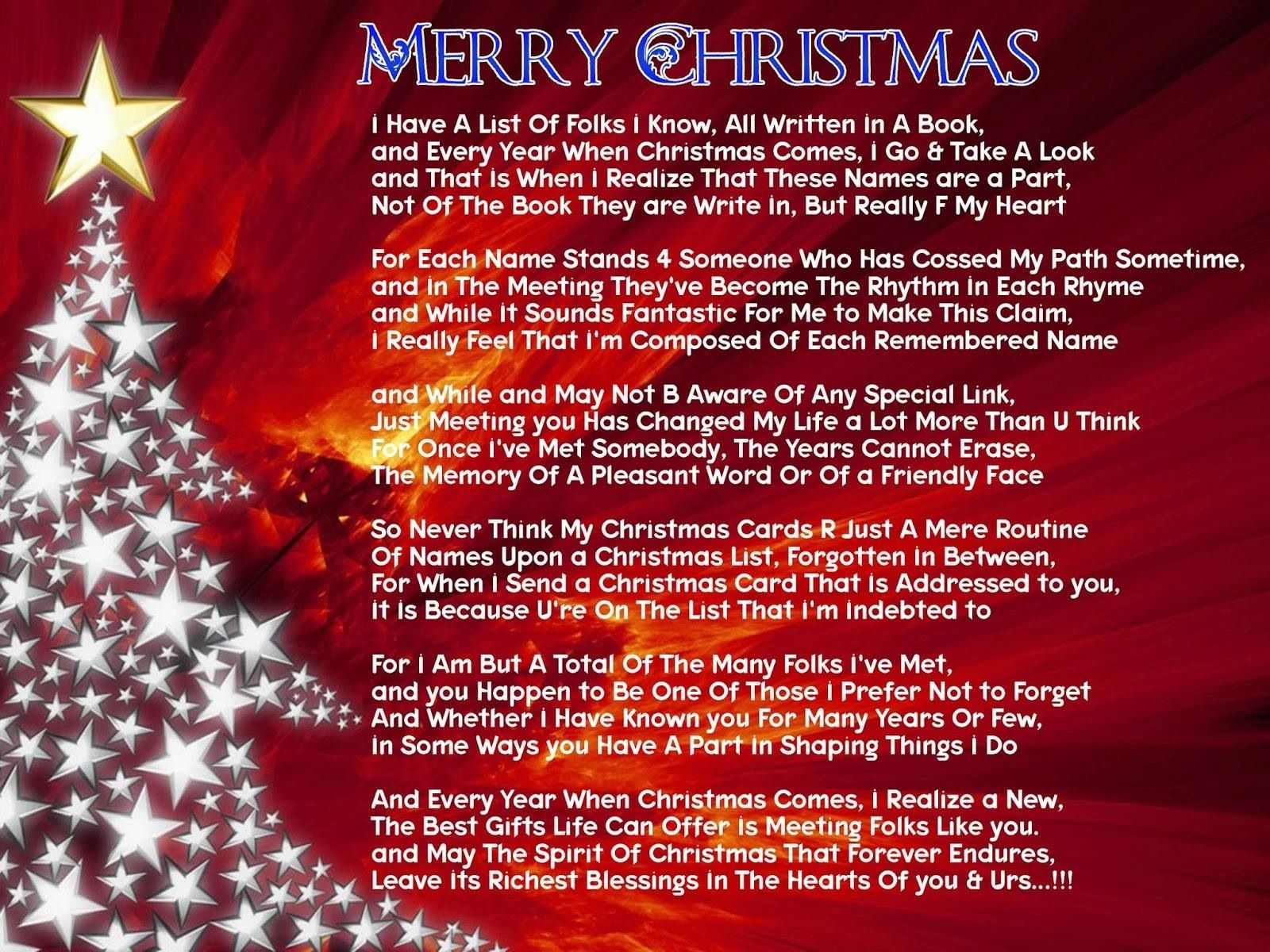 About Christmas Poem Pinterest Poem And Merry