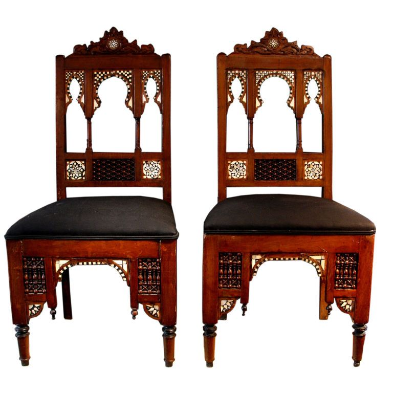 Antique Moroccan Chairs
