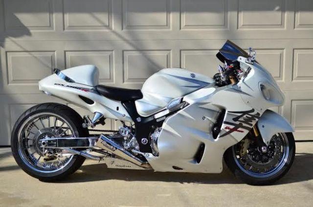 2006 Suzuki HAYABUSA Sportbike , white, 123 miles for sale