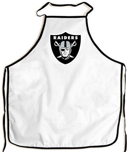 Oakland Raiders Grilling BBQ Apron