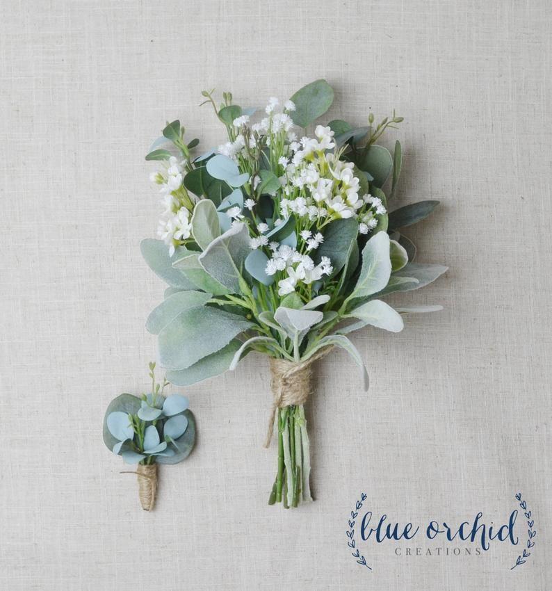 Bridesmaid Bouquet, Wedding Flowers, Silk Bridesmaid Bouquet, Bridesmaid Bouquets, Artificial Bouquet, Wedding Bouquet, Greenery Bouquet