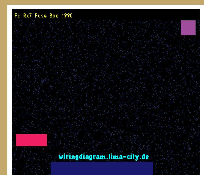 91 rx7 fuse box  | 600 x 450