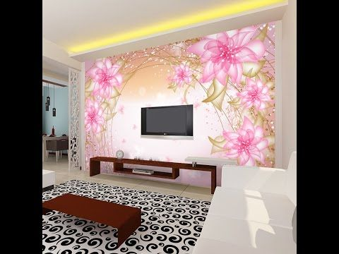 Top 50 Living Room Bedroom False Ceiling Design Ideas With Led Lighting Youtube Salas Papeis De Parede Passo A Passo