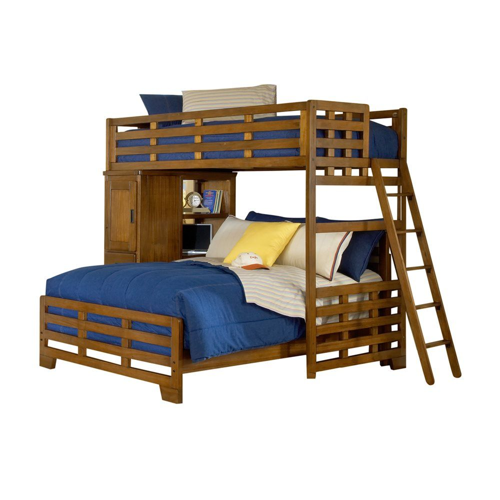 American Woodcrafters 1800 Tflb Heartland Student Loft Bed Atg