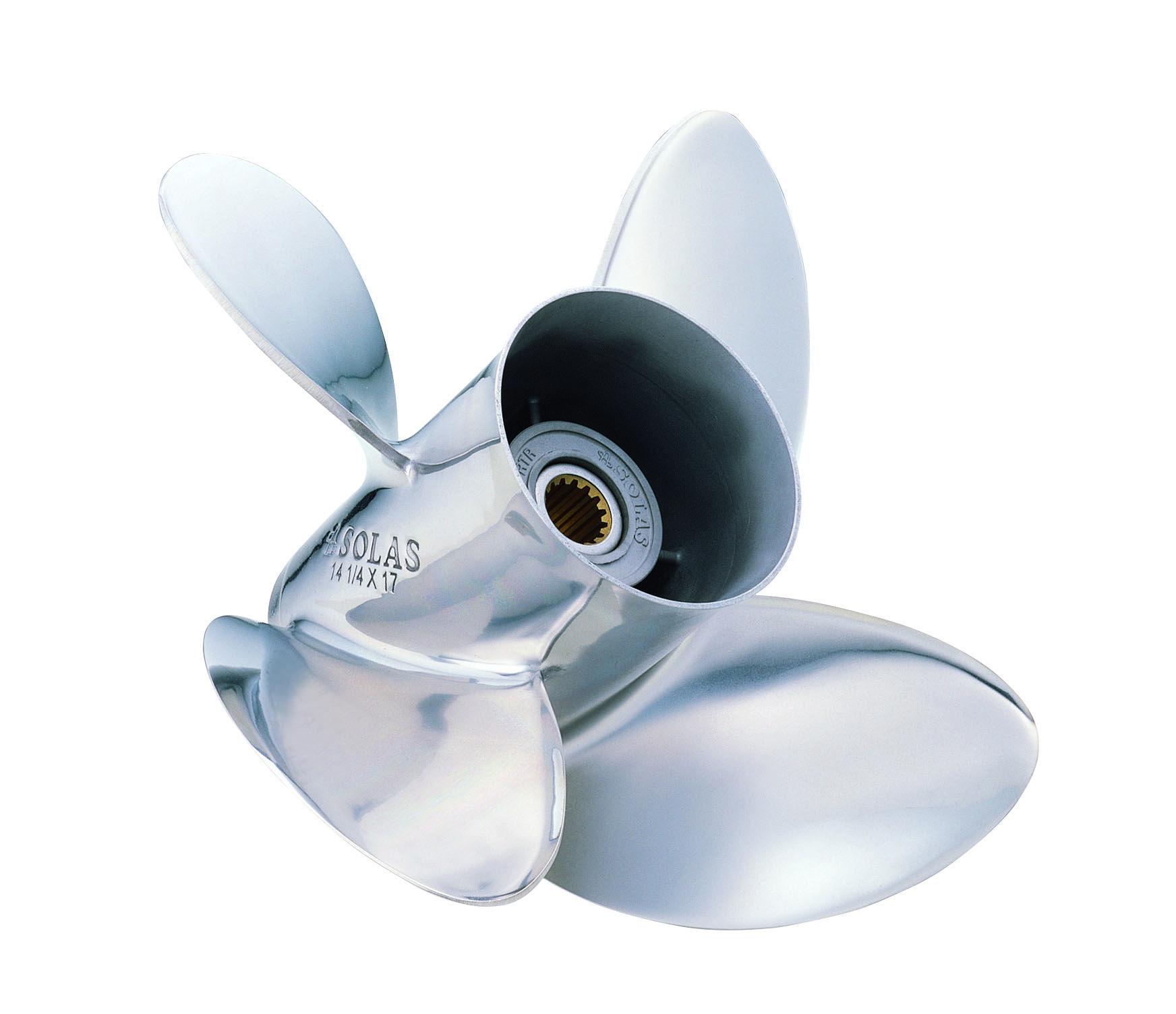 Solas 14 5 x 17 | Boat Propellers | Boat propellers, Boat