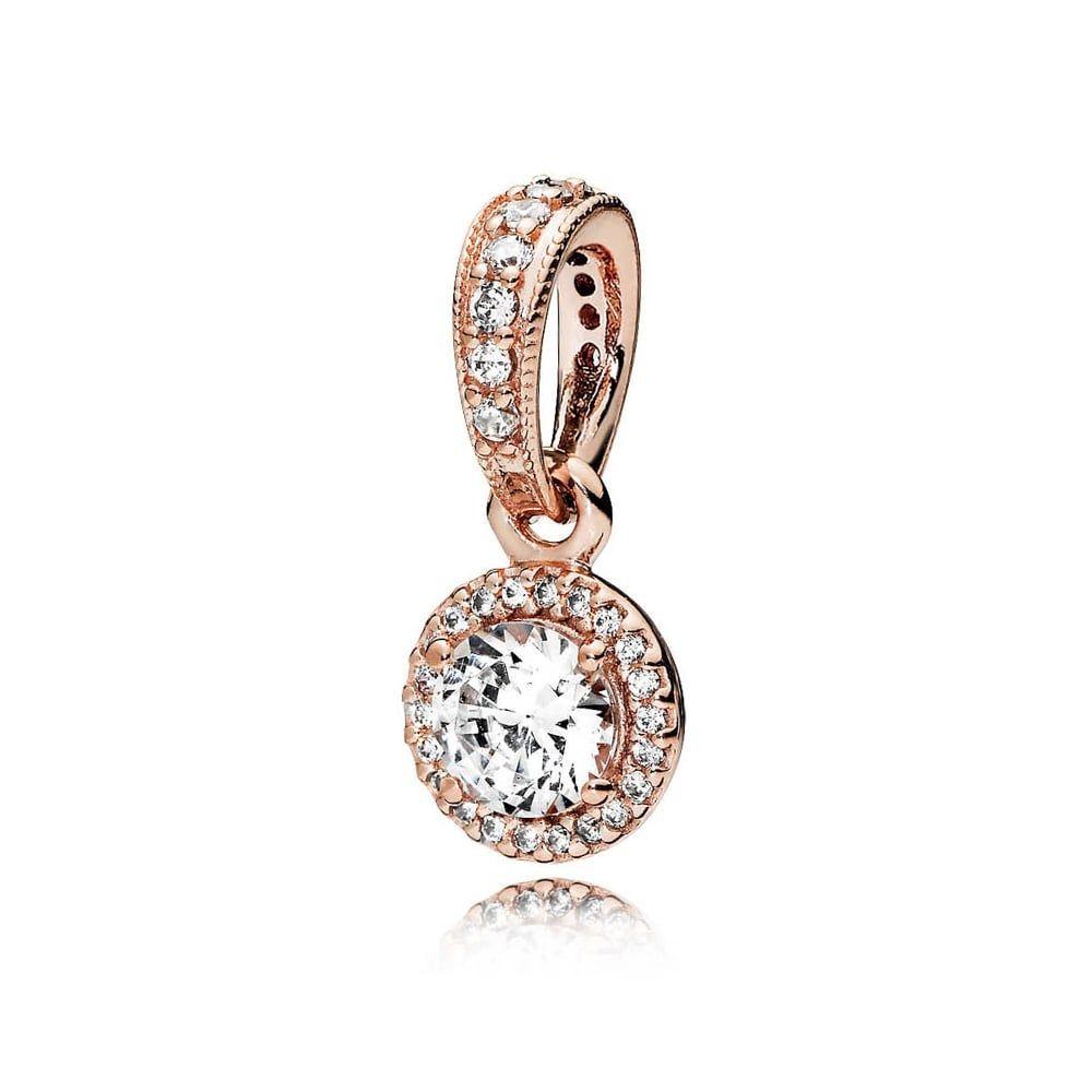 Pandora rose classic elegance pendant pandora autumn collection