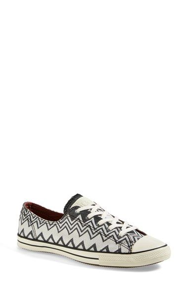 Converse x Missoni Chuck Taylor® All Star®  Fancy  Ox Sneaker (Women)  available at  Nordstrom 5944845b4