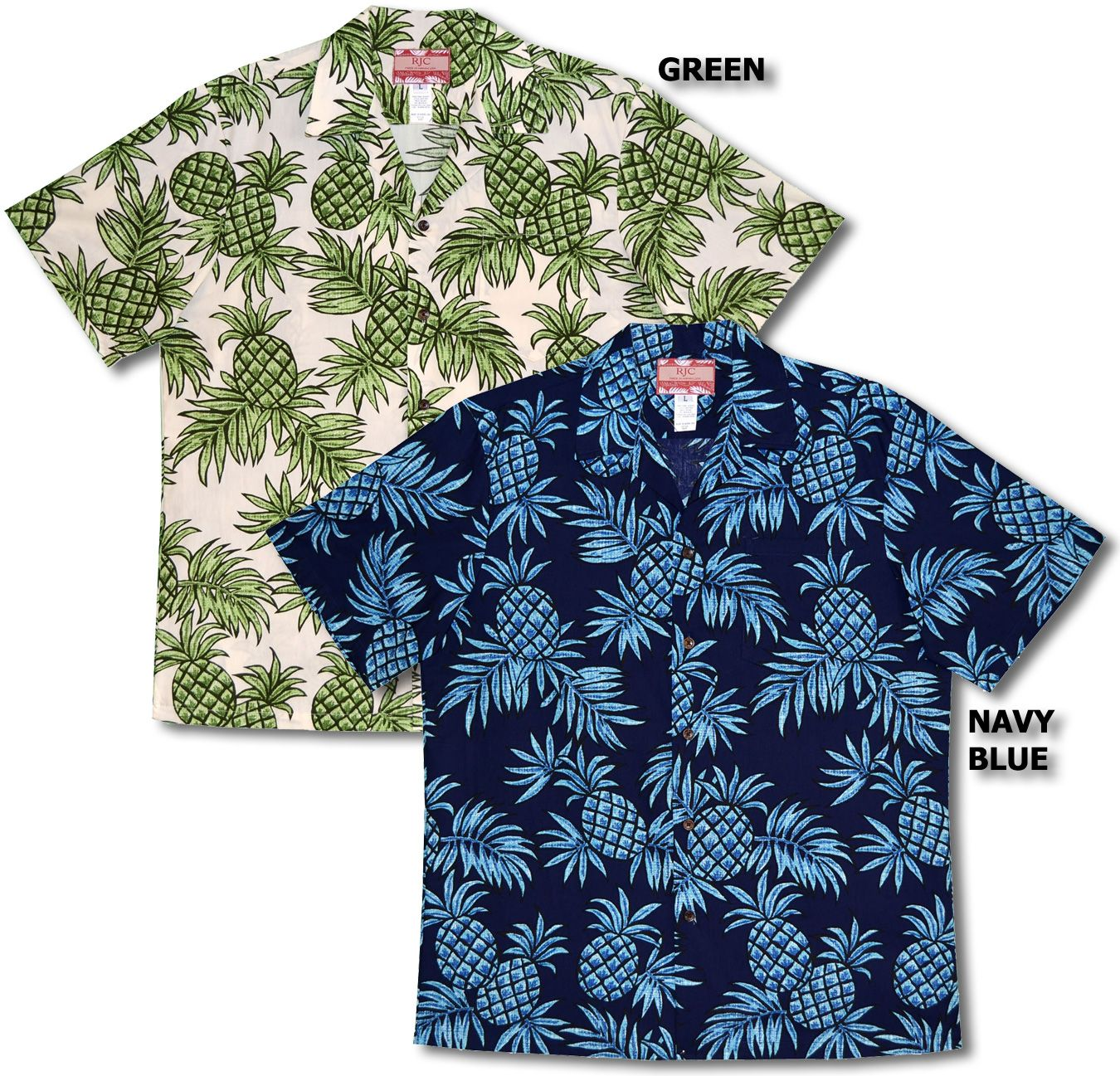 a583c4987 Ukulele Pineapple Men's Hawaiian (RJC) R. J. Clancey Shirt created in Black,  Burgundy and Blue. MauiShirts search box stock numbe…