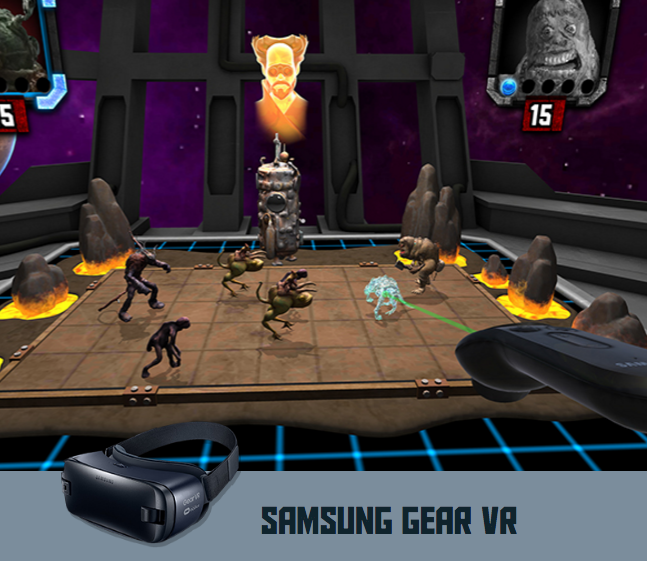 Star Wars HoloChess inspired Augmented Reality Game HOLOGRID: MONSTER BATTLE now has a VR version launching for Gear VR and a tournament to celebrate May the 4th