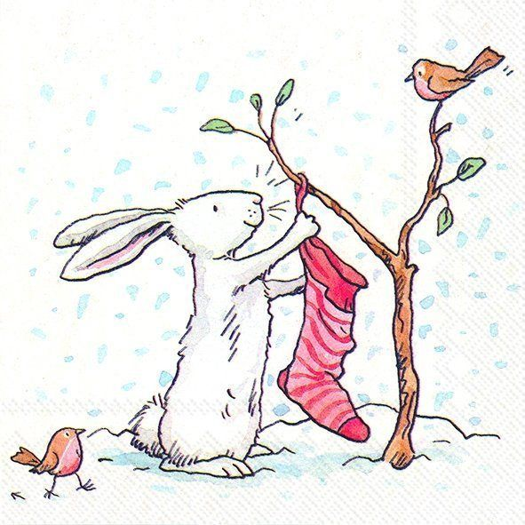 Serviette 'X-Mas Schneekugel', Tolle Serviette mit weihnachtlichem Motiv online kaufen | OTTO #papernapkins