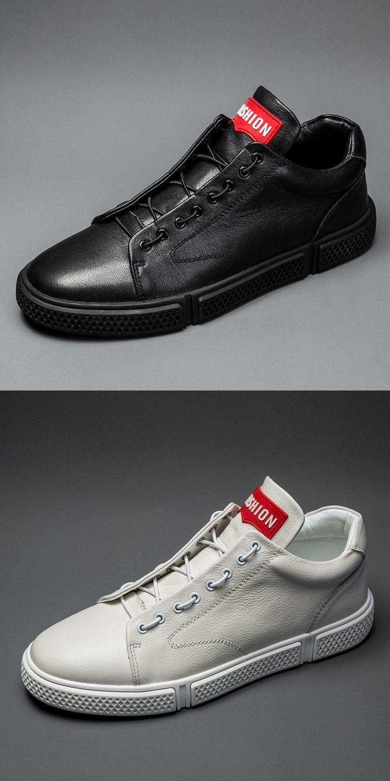 Prelesty Spring High Quality Men Formal Shoes Business Soft Leather Lightweight Comfortable Design