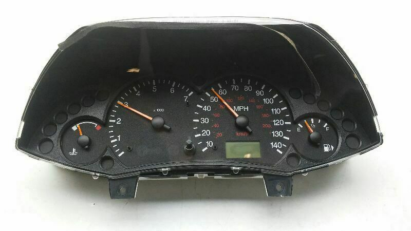 Sponsored Ebay 2004 Ford Focus Speedometer Mph Id 98ab 10849 Hf