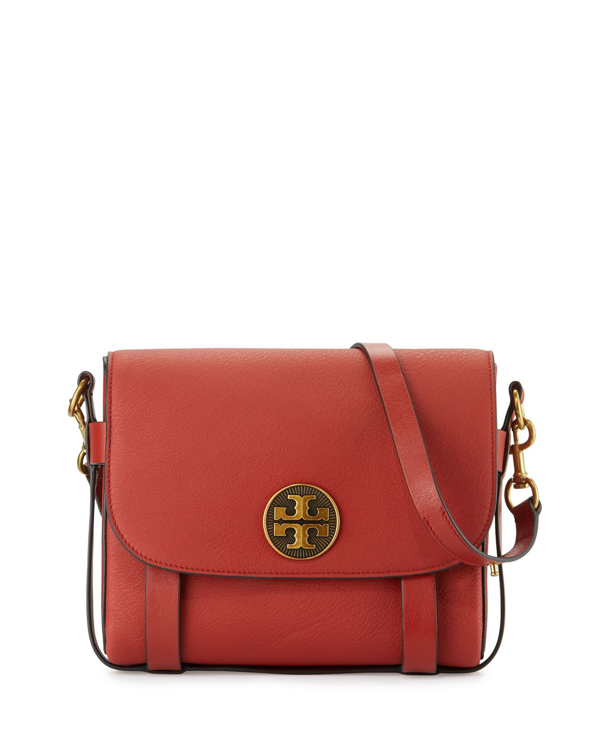 f6d36fa4a85 Tory Burch Alastair Leather Messenger Bag