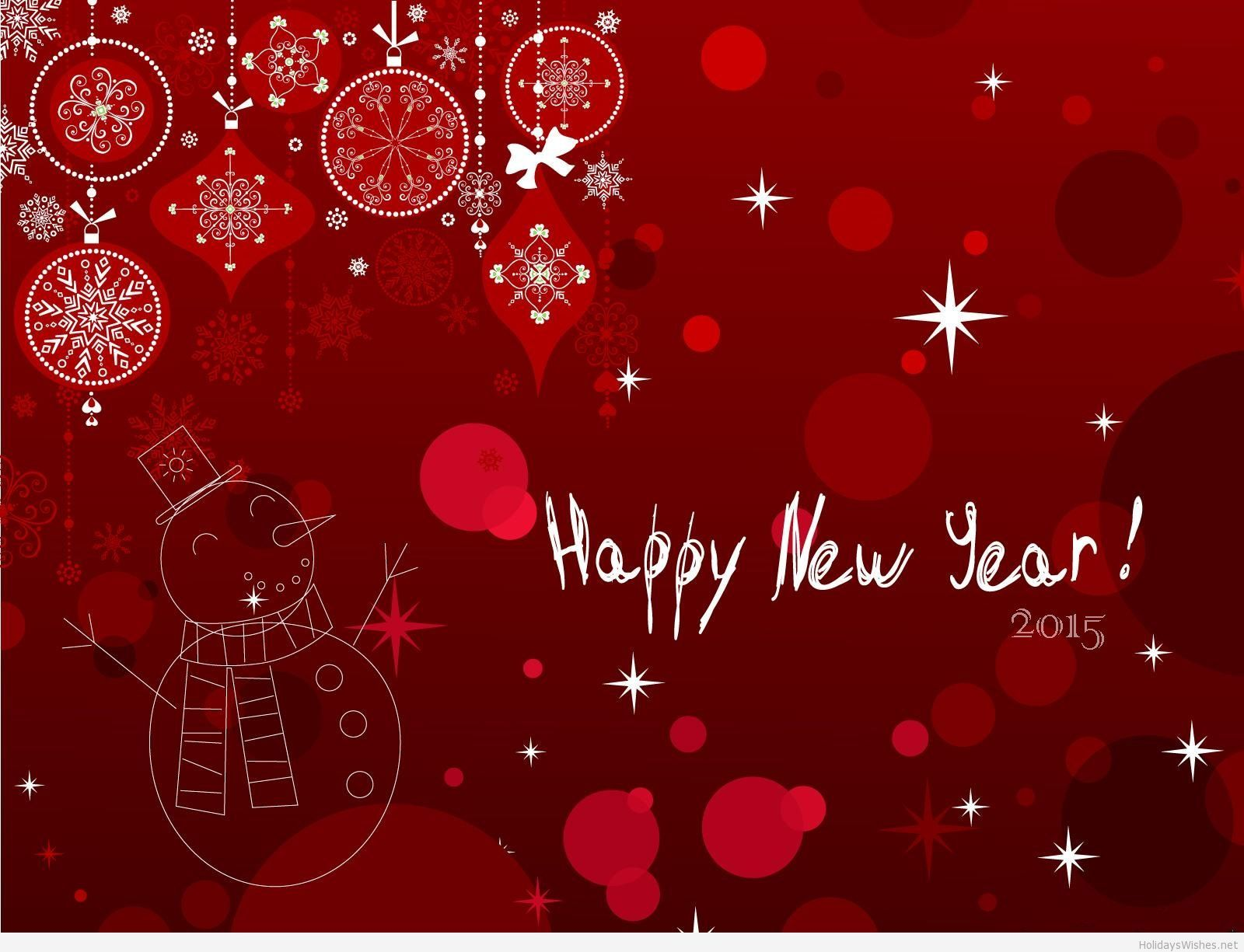 Wish You a Very Happy New Year 2015 HD Wallpapers Picture