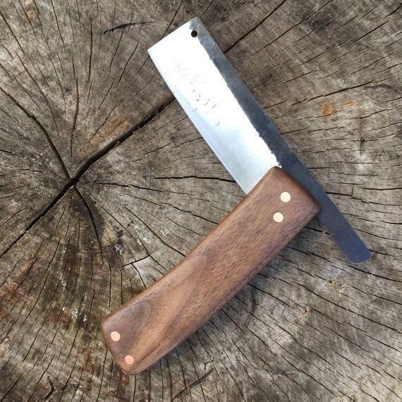 Hackmesser Tasche Messer Klappbare Messer Von Carterandsonforge Couteaux Personnalises Couteau Couteau De Poche