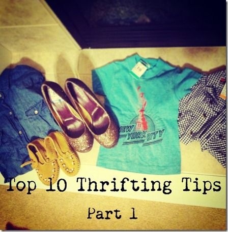 I shop at thrift shops with complete looks I want to accomplish rather than looking at just individual pieces.