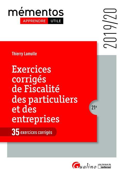 Ebook Exercices Corriges De Fiscalite Des Particuliers Et Des Entreprises Fiscalite Fiscalite Des Entreprises Droit Public