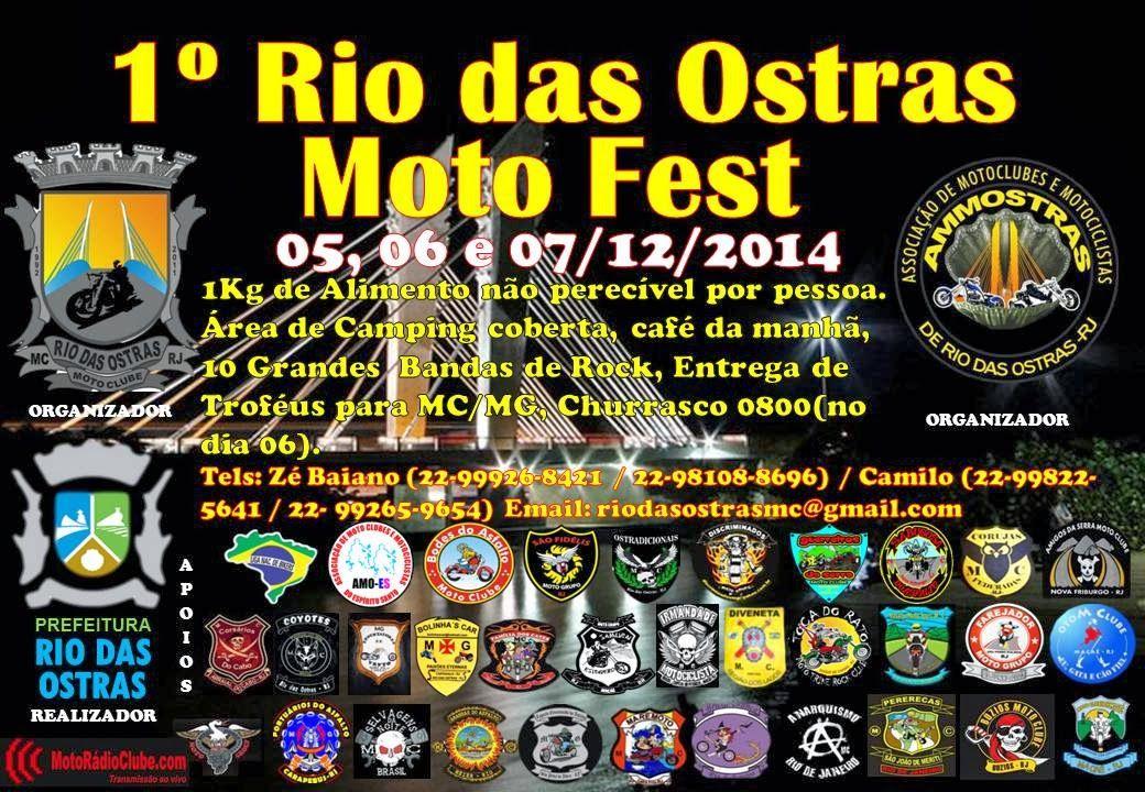 1º RIO DAS OSTRAS MOTO FEST