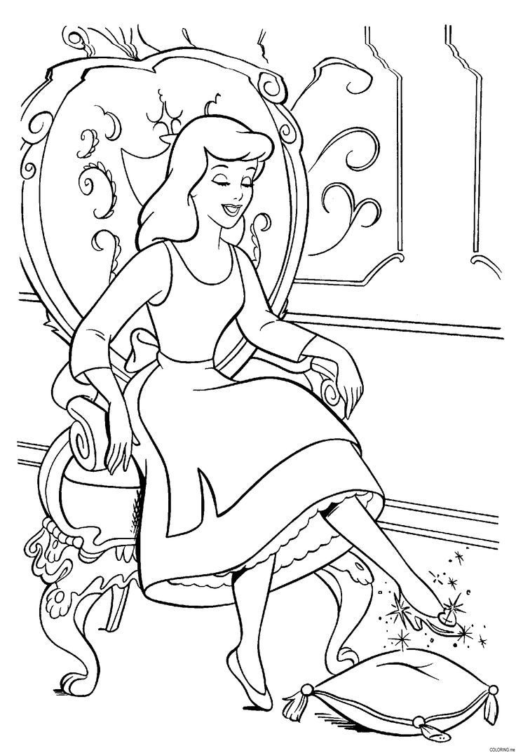 Cinderella Coloring Pages Cinderella Coloring Pages Disney Princess Coloring Pages Cartoon Coloring Pages