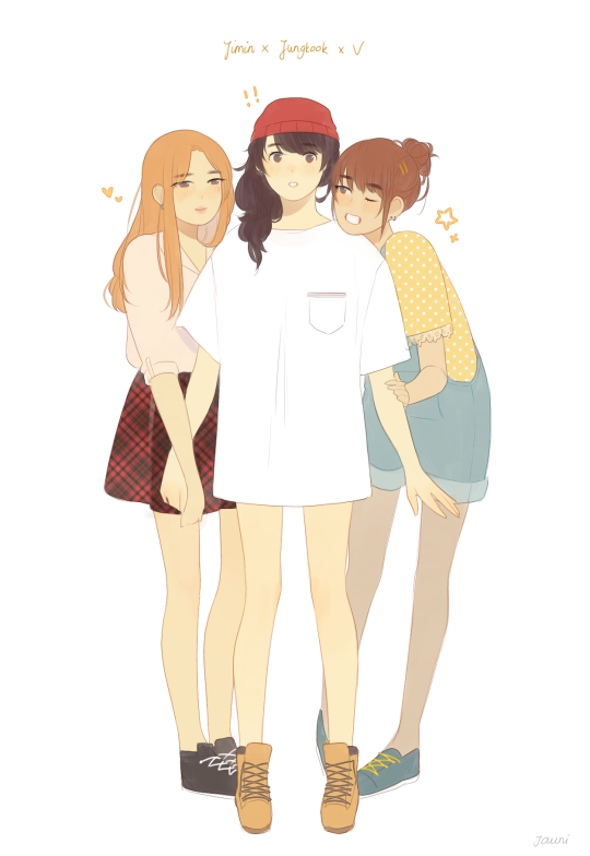 Maknae line as girls BTS Pinterest BTS