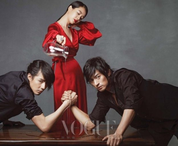 Song Ji Hyo Joo Jin Mo Jo In Sung For Vogue