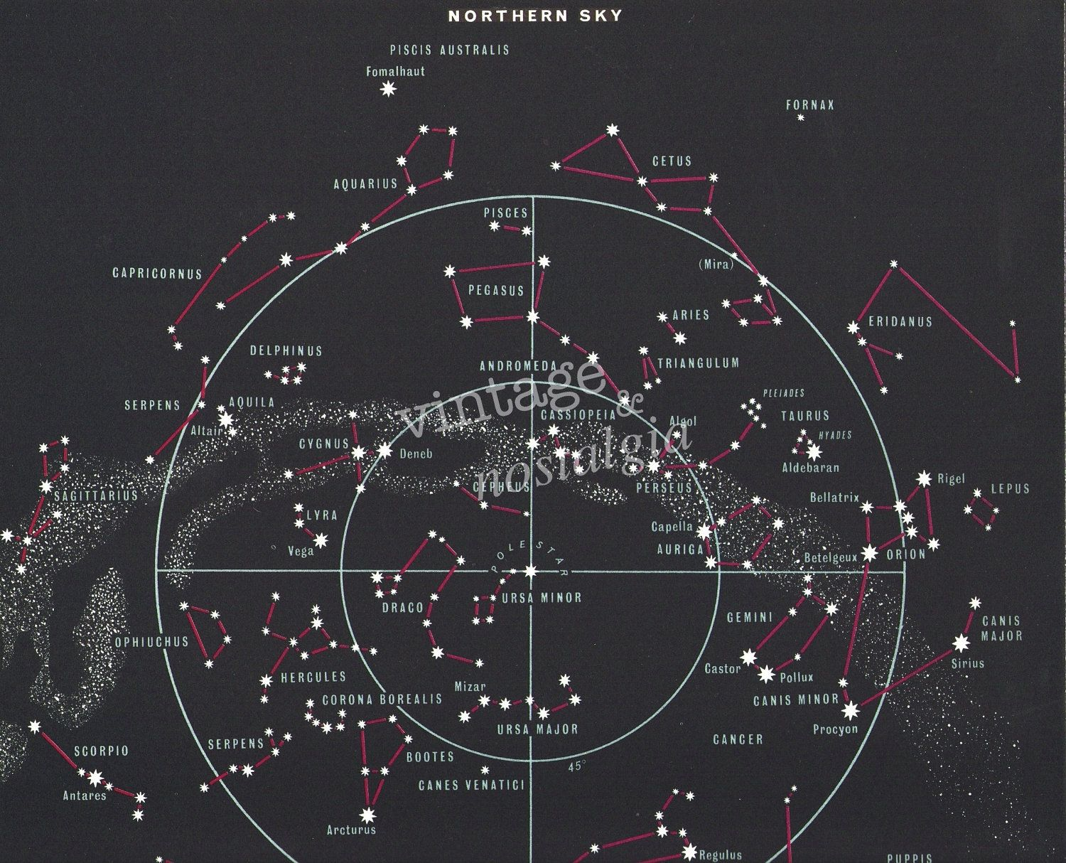 planets and constellations night sky - photo #37
