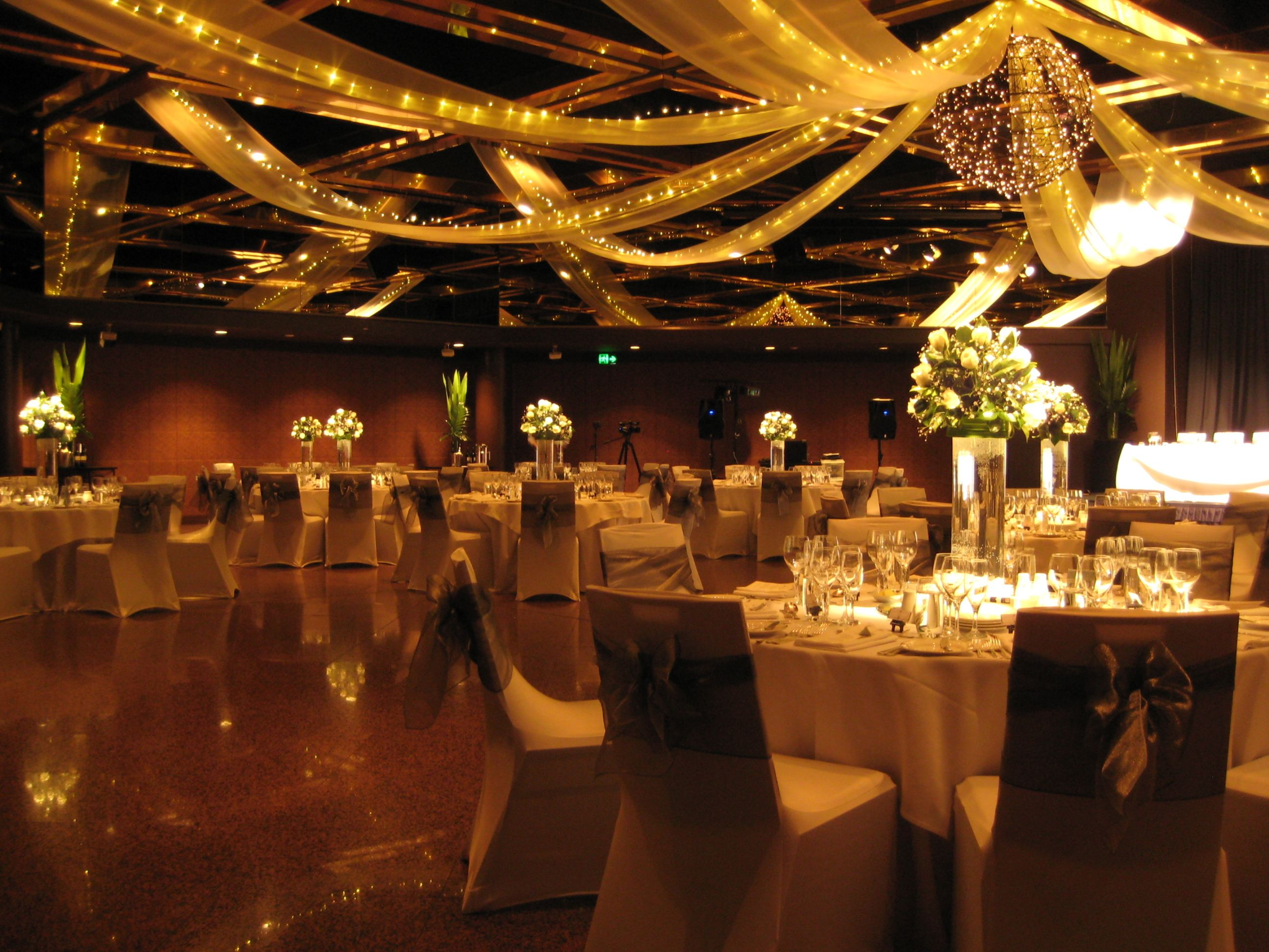 Intercontinental adelaide ballroom ceiling swagging with fairy intercontinental adelaide ballroom ceiling swagging with fairy lights wedding decorwedding junglespirit Gallery