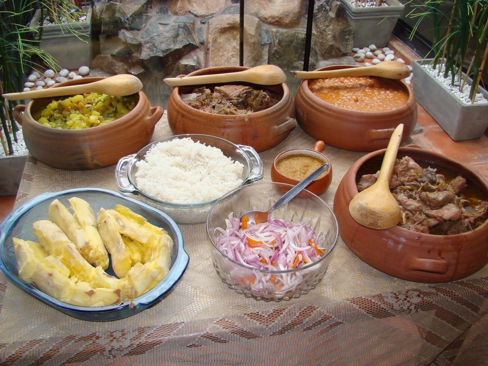 Un rico buffet criollo para tus reuniones familiares | Mis ...