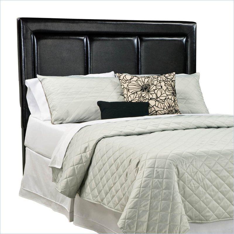 Standard Furniture Carson Upholstered Headboard In Black 602x2