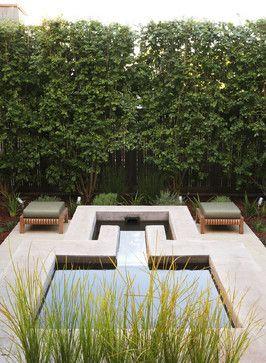 Water feature - contemporary - patio - san francisco - Arterra LLP Landscape Architects