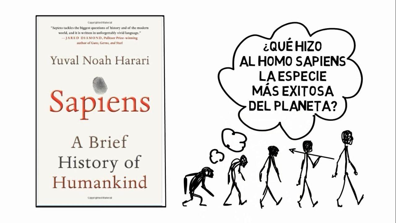 Sapiens (Yuval Harari) Resumen Animado Leer y escribir