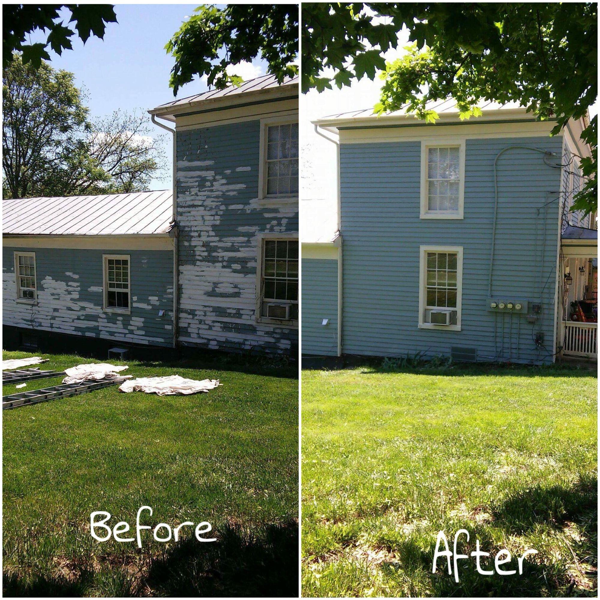 DeVore Painting   Before & After 540.280.1130   Verona, VA http://devorepainting.weebly.com