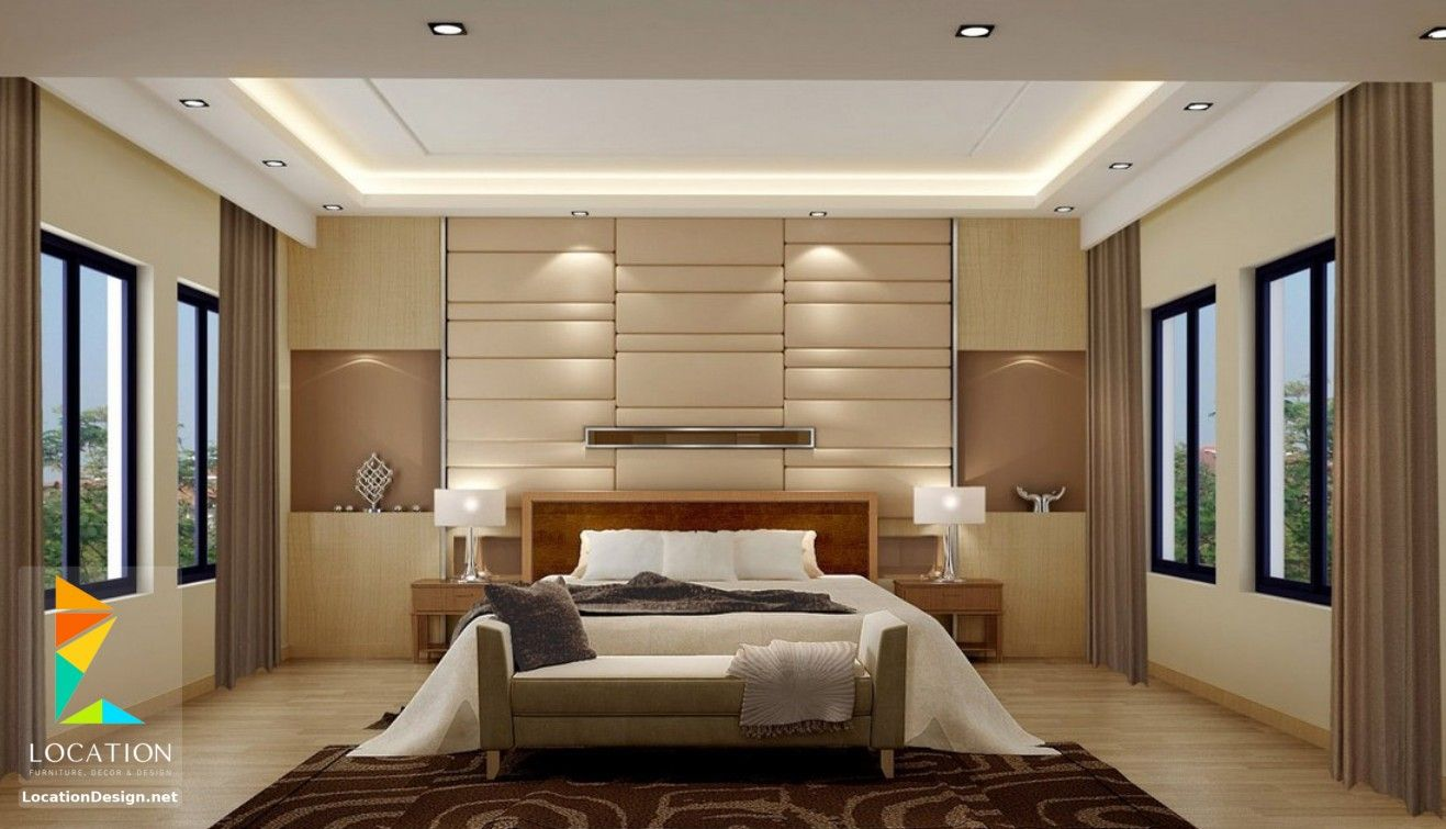 غرف نوم للعرسان مصرية 2019 2020 Bedroom Wall Designs Bedroom Wall Units Modern Bedroom Wall Decor